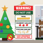 Pet Safety Tips For The Holidays (Infographic)